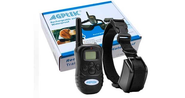 AGPtek Rechargeable Wireless Dog Training Shock Collar